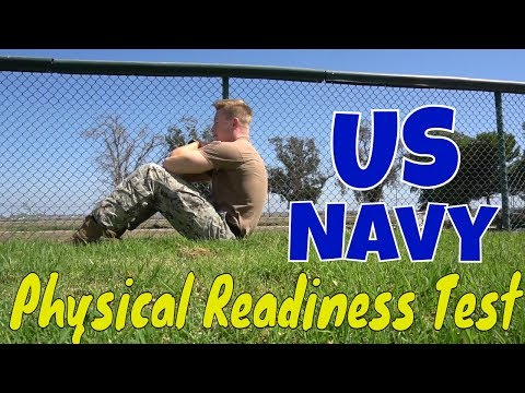 Navy Physical Readiness Test How-To // Navy Fitness Exam // PRT Requirements