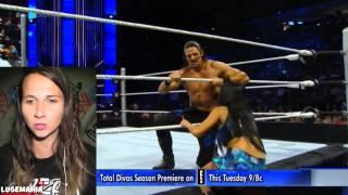 WWE Smackdown 7/2/15 R Truth vs Adam Rose