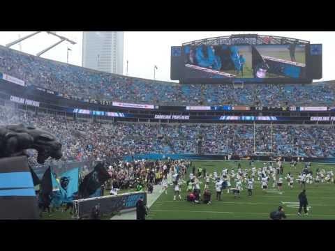 Carolina Panthers Introduction 9/20/15 (Opening intro t...   Doovi