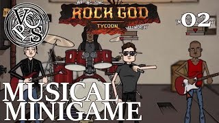 Musical Minigame – Rock God Tycoon EP02 - Band Manager Business Tycoon Gameplay