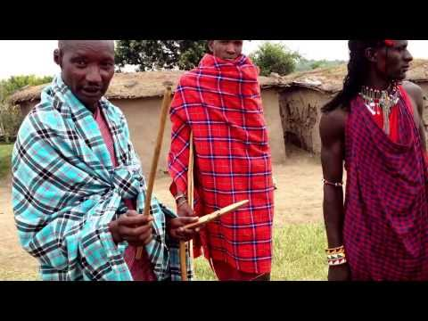 Masai Chief explaining Culture & Tradition