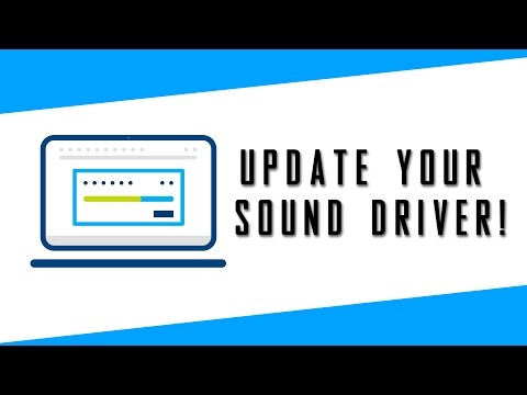 Update Your Sound Driver Now!?
