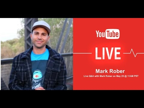 YT Live: How to Create Great Content with Mark Rober