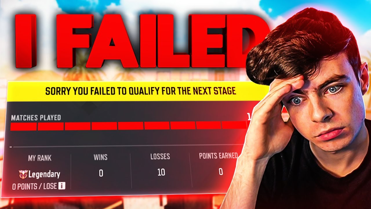 I FAILED THE COD MOBILE CHAMPIONSHIP QUALIFIERS until...