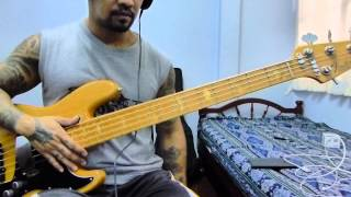 Night Rhythms - Lee Ritenour ( Bass Guitar Cover )