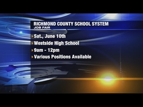 Job Fair For Richmond Co.