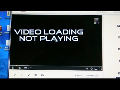 FIXING-Video loading not playing on youtube on google chrome