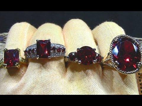 033d71e1dbdf Anillos de rojo rubí joyas de oro con piedras preciosas y semipreciosas  joyero de anillodepiedra - YouTube