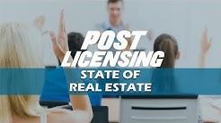 Florida Real Estate Post Licensing - State of Real Estate