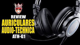 Review Audio-Technica ATH-G1 (Español)