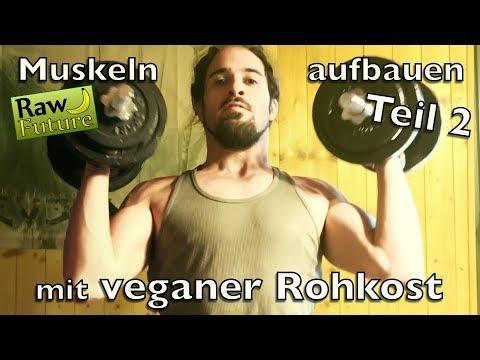 Veganer im Fitnessstudio? Muskelaufbau mit Rohkost und natürlichem Training!