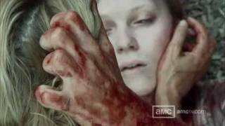 The Walking Dead - Talked About Scenes E 105 - Andrea copes with her sister's death