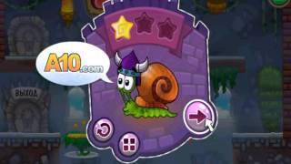 Мультик ИГРА для детей УЛИТКА БОБ [7] (Snail Bob Space) Часть 2