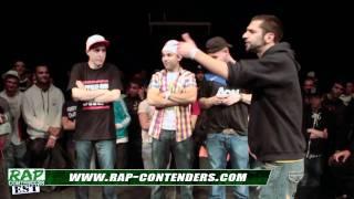 Rap Contenders Est 1 - Madmax vs Tonino