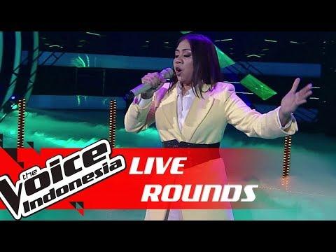 Shafira - Run To You (Whitney Houston) | Live Rounds | The Voice Indonesia GTV 2019