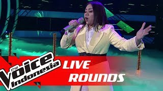 Shafira - Run To You | Live Rounds | The Voice Indonesia GTV 2018