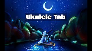 A Whole New World - Ukulele Tab