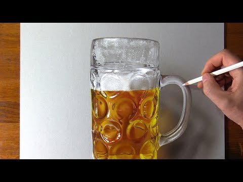 Drawing Beer, So Realistic That... 🍻