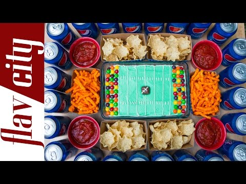 Game Day Snack Stadium - How To Make A Snack Stadium