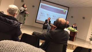 La presentazione dei portali del LiveNetwork.it durante l'incontro col vescovo Cornacchia
