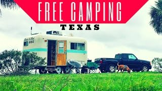 Free Camping in Texas 💯🏕 Fort Anahuac Park Boondocking | Full Time RV Living