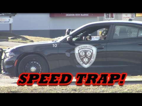 MICHIGAN POLICE SPEED TRAP EXPOSED!