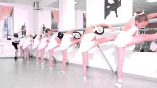 открытый урок студии Антре, дети 6-7 лет, балетный класс