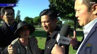 Nhạc sĩ Việt Khang cùng gia đình SBTN thăm mộ nhạc sĩ Việt Dzũng