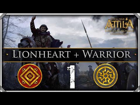 Total War: Attila - The Last Roman Campaign - Co-op w/ Warrior of Sparta #1