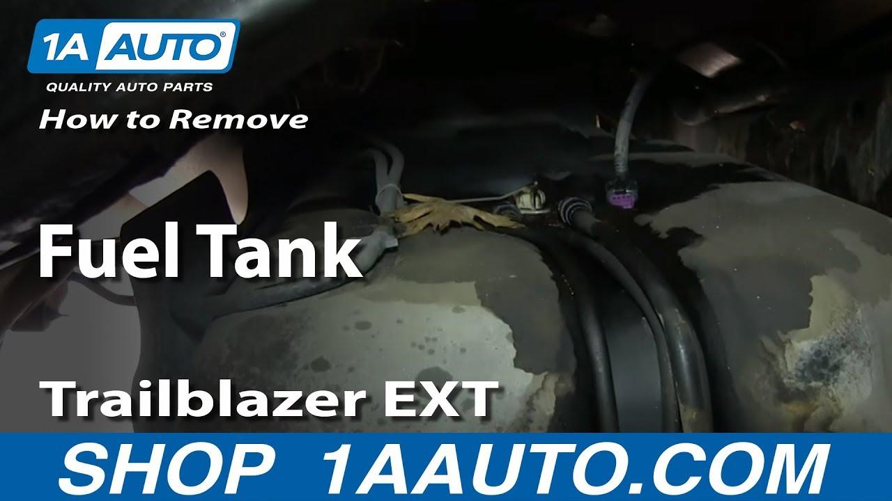 medium resolution of how to remove fuel tank 02 09 gmc envoy xl