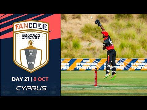 🔴 FanCode European Cricket T10 Cyprus,  Limassol | Day 21 T10 Live Cricket