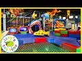 Izzy's Toy Time Goes to CATCH AIR! Fun Family Trip with Indoor Play Place!