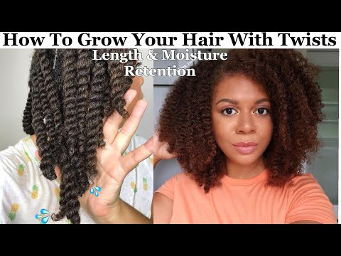 How To Grow Your Hair Using Twists | Healthy Hair & Scalp