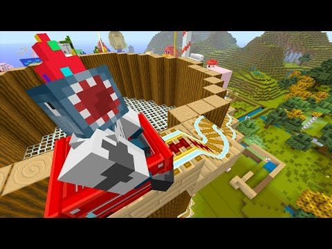 Minecraft Xbox - Quest To Be Friends With The Squid On A Hat (171)