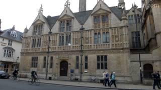 92.OxfordInside. Факультет Изобразительного Искусства в Оксфорде, Univ College/Ruskin School, Oxford