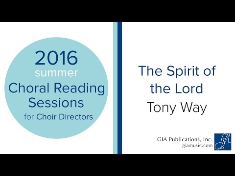 The Spirit of the Lord  Tony Way