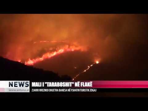 Mali i Taraboshit në flakë - Antena TV - News