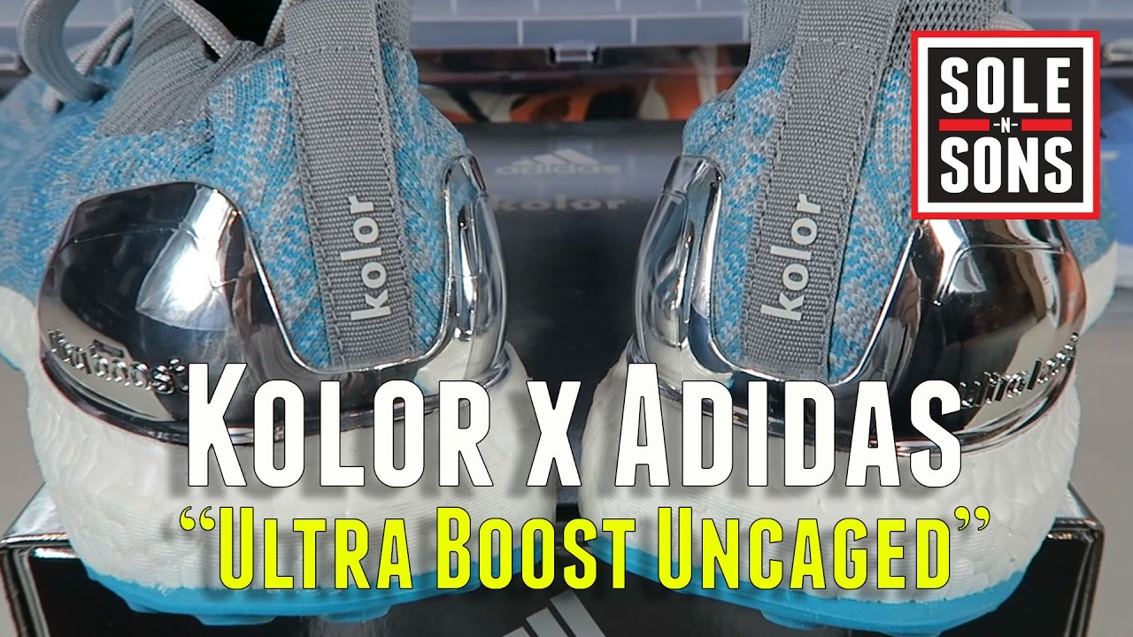 69b04b68f07 KOLOR X ADIDAS ULTRA BOOST UNCAGED - DETAILED OVERVIEW - YouTube