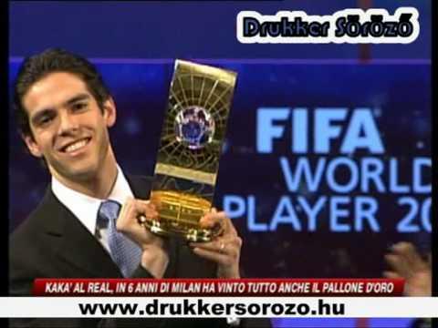 Kaka' al Real , in 6 anni di Milan ha vinto tutto anche il Palone D'oro