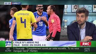 After Foot du lundi 13/11 – Partie 2/6 - Débrief d'Italie/Suède (0-0)
