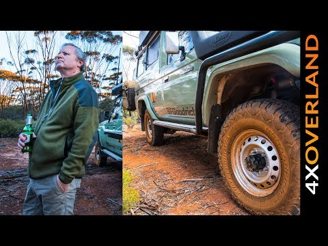 Holland Track Outback Australia in a Land Cruiser