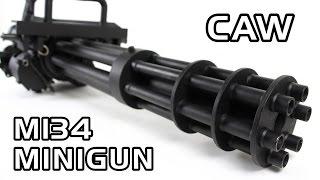 史上最高の電動ガン!CAW M134 MINIGUN AEG