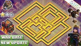 NEW Th10 War Base 2018 | Anti Everything Anti Valkyrie, Anti Bowler Anti 1 & 2 Star - Clash of Clans
