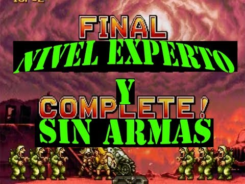 Metal Slug X Expert Final Boss! (Challenge Without Weapons Extra Hard)