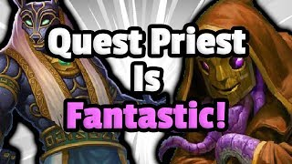 Quest Priest Is Still A Fantastic Control Deck - Hearthstone Descent Of Dragons