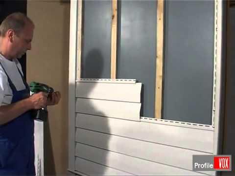 Монтаж винилового сайдинга своими руками видео инструкция по монтажу