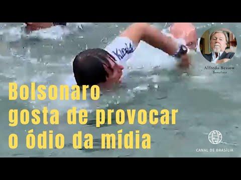 Bolsonaro sente prazer em atiçar o rancor da mídia?