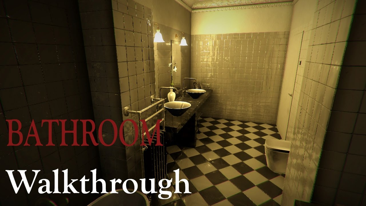 bathroom horror game bathroom japanese horror demo no commentary 10085