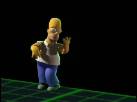 60 Second Simpsons Review - Homer^3 (Treehouse of Horror VI)