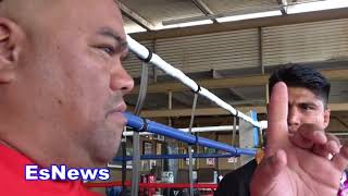 Mikey Garcia Reveals What He Looks At During His Fights EsNews Boxing thumbnail